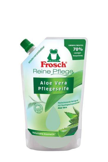 Frosch EKO DUO tekuté mýdlo Akvarel 300 ml+ náplň Aloe Vera 500 ml