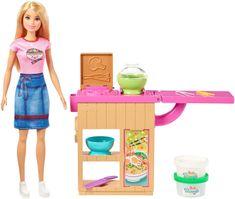 Mattel lutka Barbie in azijska restavracija - Odprta embalaža