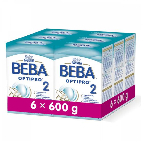 BEBA OPTIPRO 2 (6x600 g)