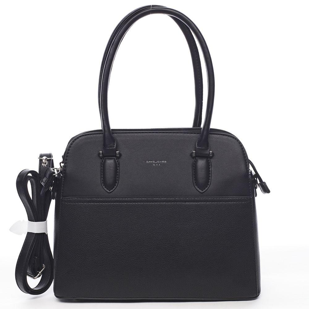 David Jones Elegantní kabelka do ruky Magdalena, černá
