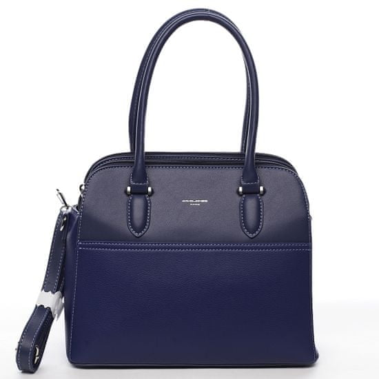David Jones Elegantná kabelka do ruky Magdalena, modrá