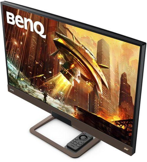 BENQ EX2780Q gaming monitor, QHD, 144hz, HDRi (9H.LJ8LA.TBE)