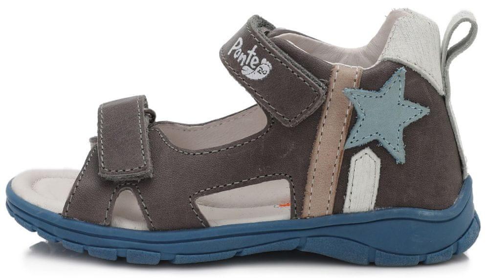 Ponte 20 chlapecká obuv PS220-DA05-1-336A 30 šedá