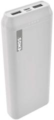 Emos Powerbanka Alpha 20, 20 000 mAh + kabel USB-C 1613052301, bílá