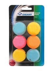 Donic Shildkrot Colour Popps Poly loptice za stolni tenis, 6/1