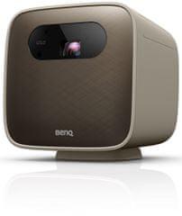 BENQ GS2 prenosni DLP projektor, 720p, zvočnik, 500 ANSI lumnov, Wi-Fi