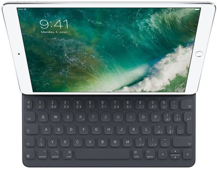 """Apple Smart klávesnice pro 10,5"""" iPad Pro/2019/Air 2019, Czech MPTL2CZ/A"""