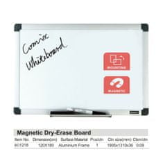 Comix Magnetická tabule 120x180cm BO1218