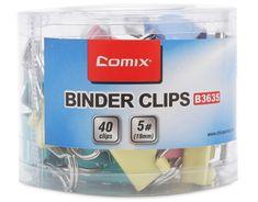 Comix Binder Clip Color 19mm