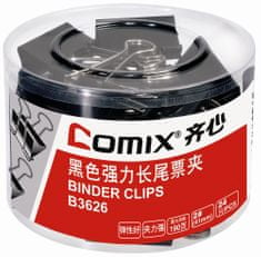 Comix Binder Clip 41mm Comix B3626