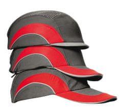 JSP Hardcap A1+ bezpečnostní kšiltovka s plastovou výztuhou, délka kšiltu 5 cm černá