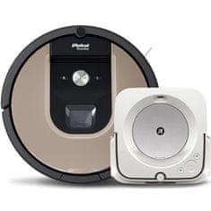 IROBOT set Roomba 976 a Braava jet m6