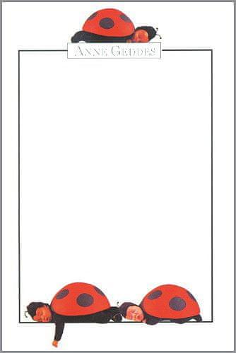 Anne Geddes Képeslap, katicabogárkák álló formátum