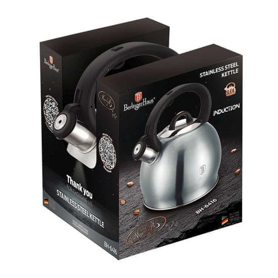 Berlingerhaus Konvice pískací nerez 3 L Moonlight Edition