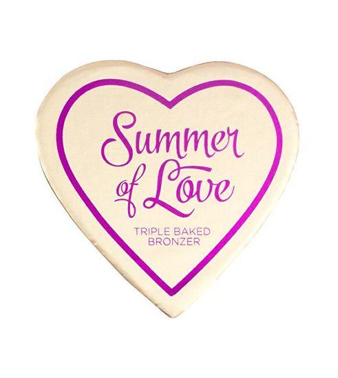 I Heart Revolution Srdcový bronzový pudr Summer Of Love (Bronzer) 10 g
