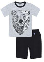 WINKIKI pidžama za dječake WJB91208, 134, siva