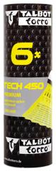 Talbot Torro Tech 450 Medium žogice za badminton, najlon, rumene, 6 kosov