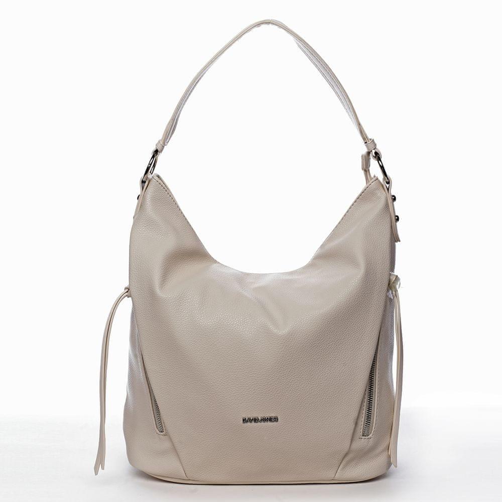 David Jones Trendová kabelka přes rameno Mercedes, bílá
