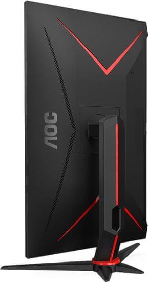 """AOC Q27G2U/BK monitor, 27"""", 144hz, 1ms, FreeSync, VA, QHD 2560x1440, gaming"""