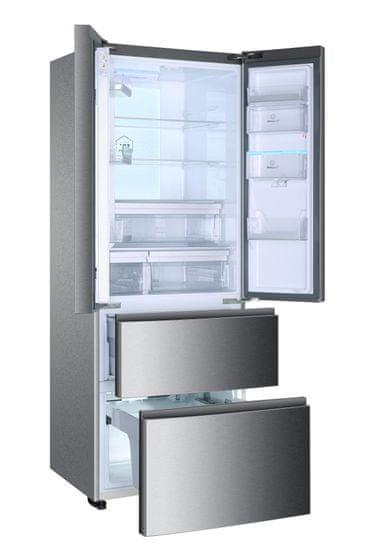 HAIER americká lednička B3FE742CMJW + 5 let záruka + 12 let záruka na kompresor