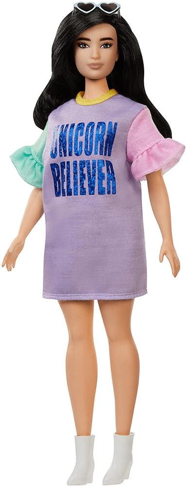 Mattel Barbie Modelka 127 - Pastelové šaty