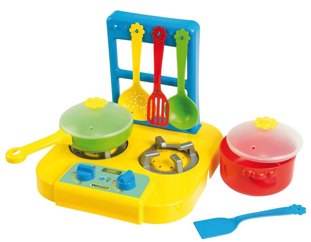 Wader Party World - Plynový sporák s nádobím