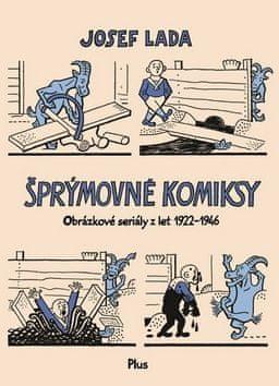 Josef Lada: Šprýmovné komiksy
