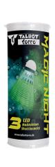 Talbot Torro Magic Night LED set žogic za badminton