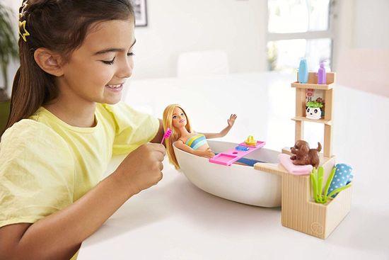 Mattel lutka Barbie Wellness, komplet