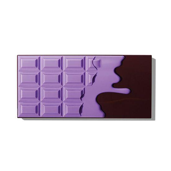 I Heart Revolution Paletka 18 očních stínů (Violet Chocolate Palette) 22 g