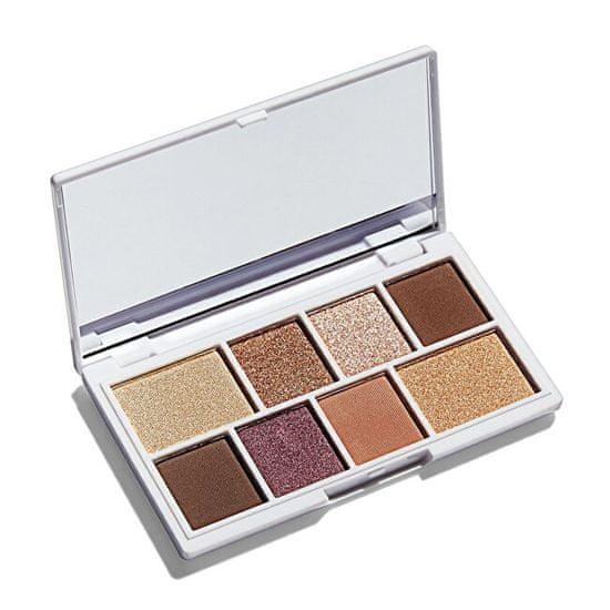 I Heart Revolution Paletka očních stínů Mini Chocolate (Rose Gold Mini Chocolate) 2 x 1,5 g + 6 x 1,2 g