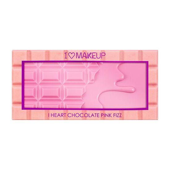 I Heart Revolution Paleta cieni do powiek Pink Fizz ( Eyeshadow Palette Fizz) Chocolate ( Eyeshadow Palette Fizz) Pink