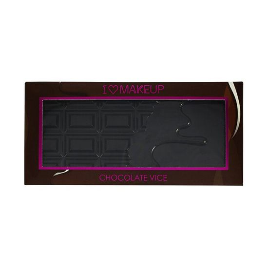I Heart Revolution Cudowna paleta cieni do oczu grzesznej czekolady (I Heart Makeup Vice) Chocolate (I Heart Makeup Vic