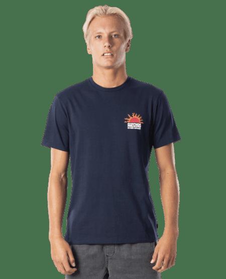Rip Curl pánské tričko Grateful Tee M tmavě modrá
