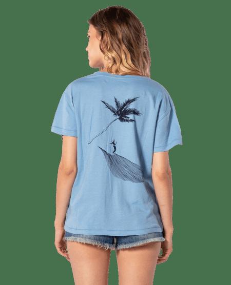 Rip Curl dámské tričko Minimalist Wave Tee XL modrá