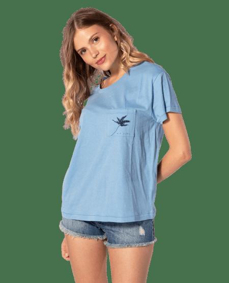 Rip Curl dámské tričko Minimalist Wave Tee S modrá