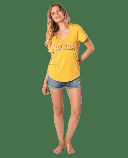 Rip Curl dámské tričko Big Mama Tee XL žlutá