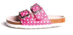 BF dekliški natikači BA5251115, 34, roza - Odprta embalaža