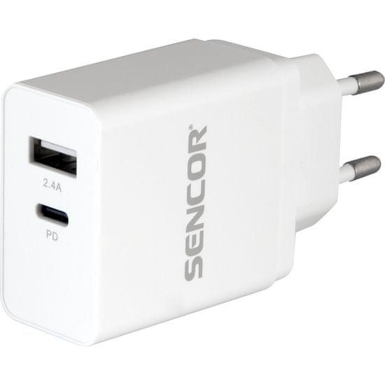 SENCOR SCH 660 PD napajalnik USB C + USB A