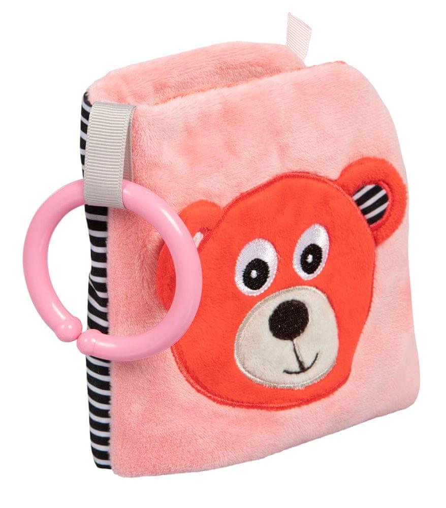 Canpol babies Plyšová knížka Medvídci červená