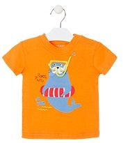 Losan chlapecké tričko 86 oranžová