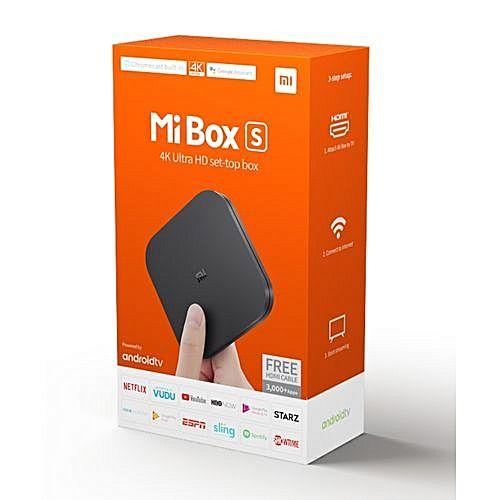 Xiaomi Mi TV box S multimediální centrum - rozbaleno