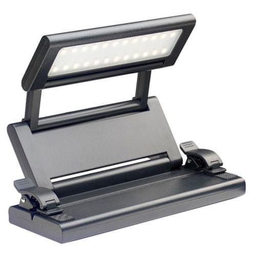 Stagg LED lampička , Skládací - barva černá