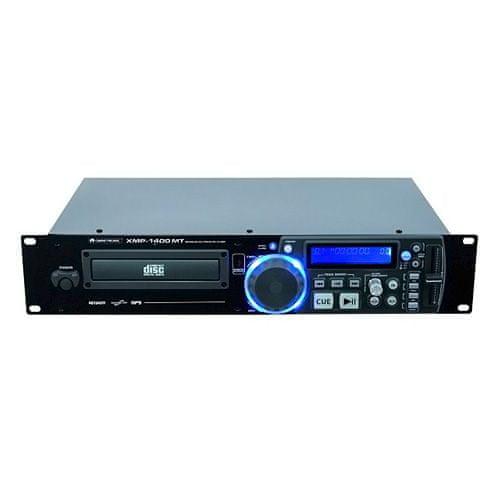 Omnitronic Přehrávač , XMP-1400 MT, CD/MP3 přehrávač