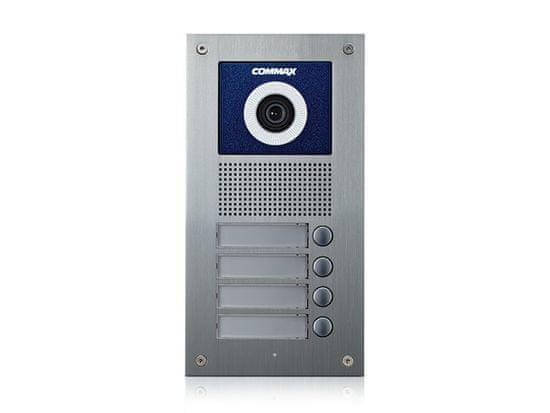 COMMAX DRC-4UC - bramofon z kamerą, 4 prasy, CVBS