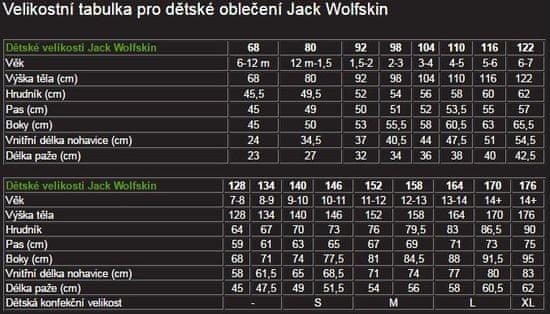 Jack Wolfskin BRAND T KIDS gyermek póló