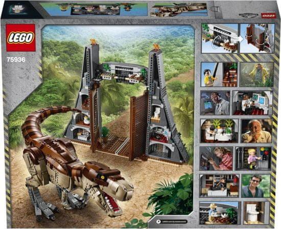 LEGO Jurassic World 75936 Park Jurajski: Kontrola T. rex