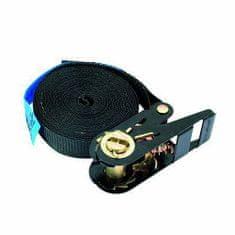 Omnitronic Viazací pás , Pás viazací S400 so západkou, 5m, 25mm, čierny