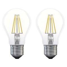EMOS LED žiarovka Filament A60 6W E27 teplá biela