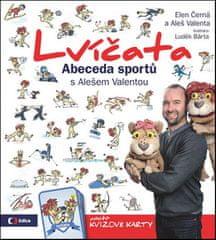 Aleš Valenta: Lvíčata Abeceda sportů s Alešem Valentou - obsahuje kvízové karty